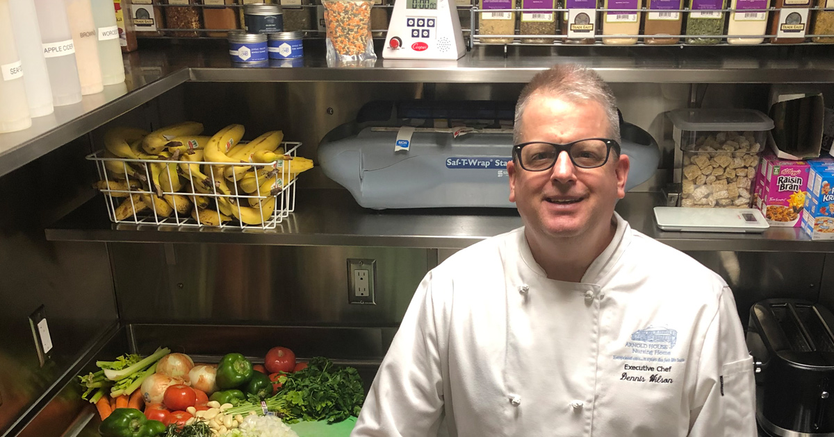 Arnold House Chef Dennis